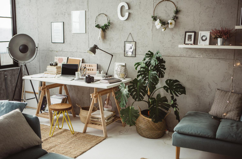 Home Office Arbeiten Von Zuhause Aus Zukunft Bauen